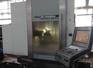 Centro di lavoro 5 assi DMG DMU 50 eV0