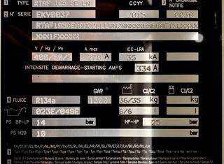 TRANE RTAF 105 SE - LN P210330098
