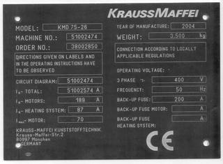 Krauss Maffei A+G P90324021