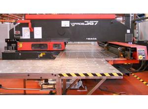 Amada VIPROS 367 CNC punching machine