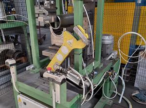 Automatic Machine For Extrusion 90 ° T Fittings For Flue Pipes Complete With 14 Molds