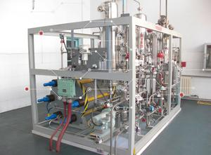 Electrolyzer of mobile hydrogenation station