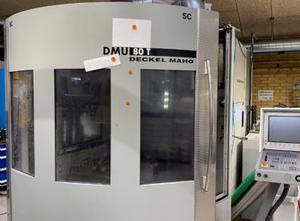 Centro de mecanizado vertical DMG DMU 80T