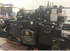 Heidelberg Cylinder 56x77 Konfektioniermaschine