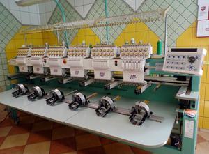 Tajima TMFX IIC 1206 Stickmaschine