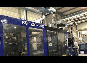 Pressa ad iniezione Italtech KS 1200/8300 ES