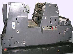 HEIDELBERG GTO52 2+N Двухкрасочная офсетная машина