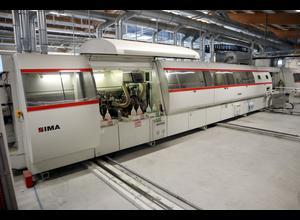 Używana okleiniarka dwustronna IMA COMBIMA II R75 1370 A+B R3 PU z laserem