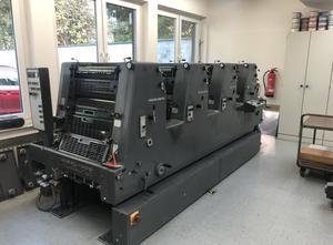 Heidelberg GTO 52-4P+ 4 Farben Offsetdruckmaschine