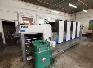 Ryobi 754 4 Farben Offsetdruckmaschine