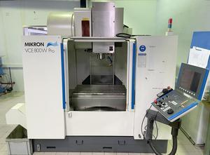 Mikron VCE 800 W Pro Bearbeitungszentrum Vertikal