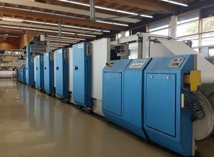Goebel Ecoprint 5 Farben Offsetdruckmaschine