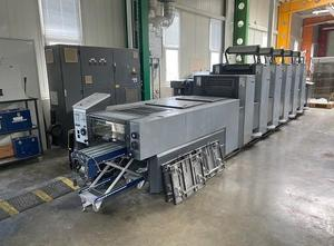 Heidelberg SM 52-5 P + LX + UV 5 Farben Offsetdruckmaschine