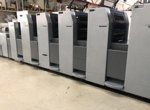 Heidelberg SM 52-5P + LX 5 Farben Offsetdruckmaschine