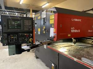 Amada Alpha II, LC1212 A2 laser cutting machine