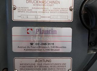 Heidelberg GTO 52 P210419044