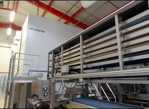 Mecatherm Baguette line Brot- oder Brötchen Komplette Produktionslinie