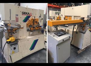 Geka HYDRACROP 80 SD + SEMI PAXY 1000 x 400 CNC Stanzmaschine