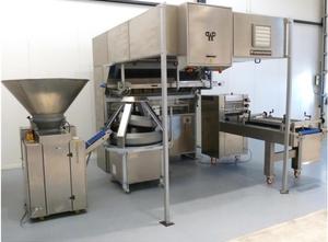 Ligne complète de production de pains Werner & Pfleiderer Parta U / CR 59
