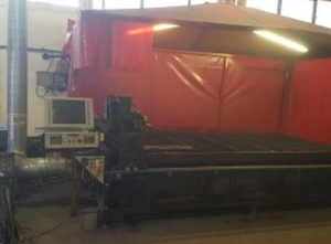 Weldi CNC-PLAS 3015 Schneidemaschine - Plasma / gas