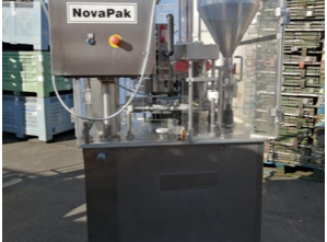 Novapak D2500 automatic rotary filling and sealing machine