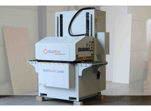 Fırçalama makinesi Ecoline Rustikmat 2-600