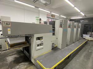 ALMANYA ROLAND 4 Farben Offsetdruckmaschine