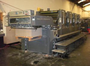 Heidelberg SM102 4 Farben Offsetdruckmaschine