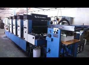 KBA Rapida 72 4 Farben Offsetdruckmaschine