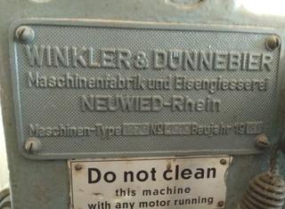 WINKLER and DÜNNEBIER W&D 127G (with gum head) P210429259