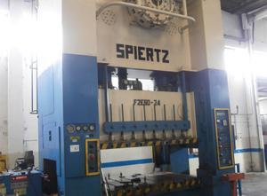 Spiertz F2E60 x 2,4 Presse