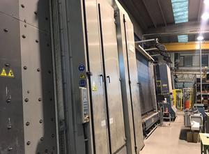 Lisec Gas line Glasisoliermaschine