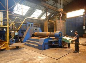 Schafer SVRM 3200 x 140 mm Blechrundbiegemaschine - 4 Walzen