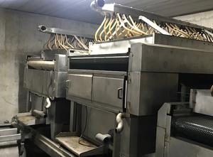 Automatic cooking line Alfogar ALF for mussels of 20,000 kilos/h