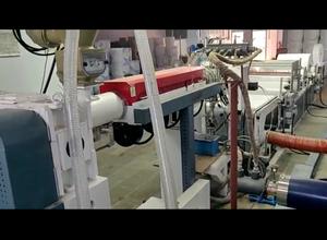 Línea de extrusión Rajoo Engineers Ltd. FABREX REMB-1450/800 PP