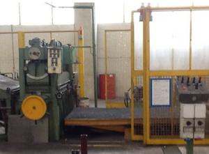 Sacma Cut to lenght line Hydraulische Blechschere