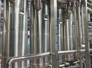 Komplette GTI SUEZ Destillationsanlage. WASSERSYSTEM ERHALTEN Suez
