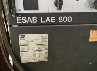 ESAB LAE 800 MKE PEG1 P210505003