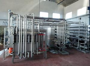 ALFA LAVAL 2005 Molkerei - Käseherstellung-, Käseverpackung- und Käseportioniermaschine
