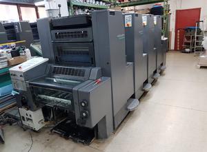 Heidelberg SM 52-4 + NP 4 Farben Offsetdruckmaschine