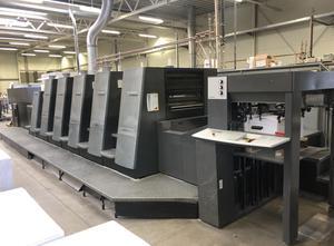 Heidelberg XL 75-5 + L 5 Farben Offsetdruckmaschine