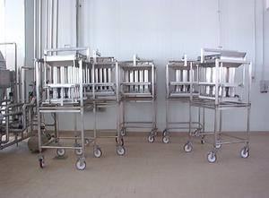 Milk Project DSA Molkerei - Käseherstellung-, Käseverpackung- und Käseportioniermaschine