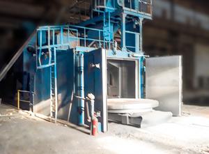Stroj na čistění kovů SES Shotblast OPWK-4