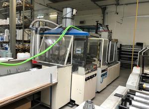 Máquina para fabricar bolsas Wicket LEMO INTERMAT 850