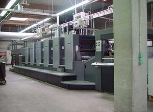 Heidelberg CD 102 5 LX 5 Farben Offsetdruckmaschine