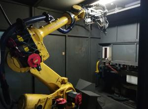 Zrobotyzowana cela do cięcia laserowego 3D TRUMPF LASER TRUDISC 2000 (FD24) Fanuc R-2000iB 165 F