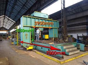 Aplanadora de chapas LVD 400 ton