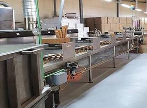 Linea di produzione di coni gelato HAAS