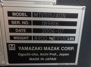 Mazak MTV515/40 P210524047