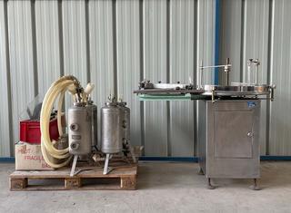 Farmomac F47 filler/capper + Zalkin TM 100 crimper P210525094